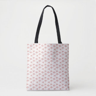 Romantic Flower Tote Bag