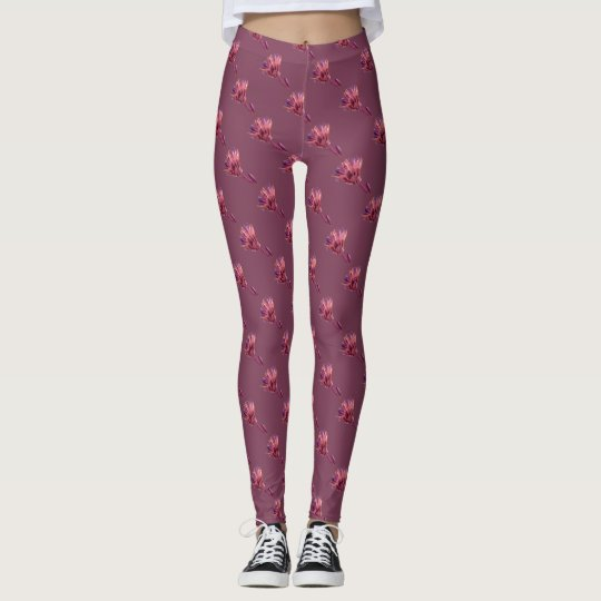 Romantic Flowery Leggings