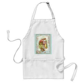 Romantic French 18th Century Couple Adult Apron