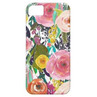Romantic Garden Watercolor Flowers Case For The iPhone 5