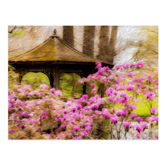 Romantic Gazebo Postcard