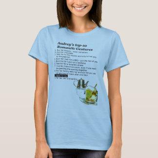 Romantic Gesture Tea-Shirt T-Shirt