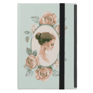 Romantic girl 3 iPad mini case