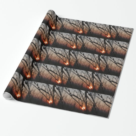 Romantic Glossy Wrapping Paper, 30 in x 6 ft