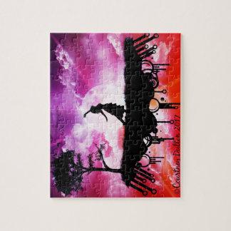 Romantic Graphic Art-- 8x10 Puzzle