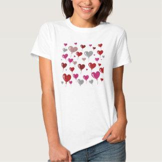 Romantic Hearts T-shirt