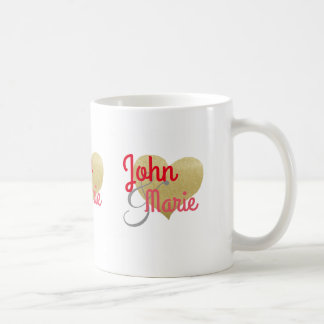 romantic his her Mr. Mrs. personalized Coffee Mug