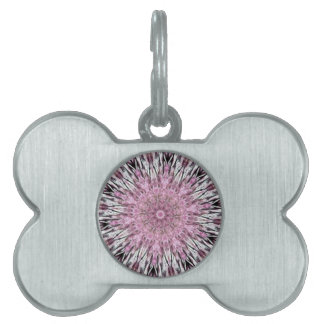 Romantic In the Mood for Love Kaleidoscope Pet Tag