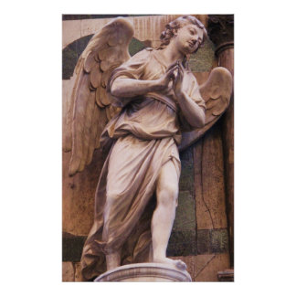 Romantic Italian Renaissance Angel Poster