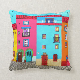 Romantic Italian Villa Throw Pillow