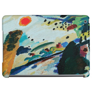 Romantic Landscape by Wassily Kandinsky iPad Air Cover