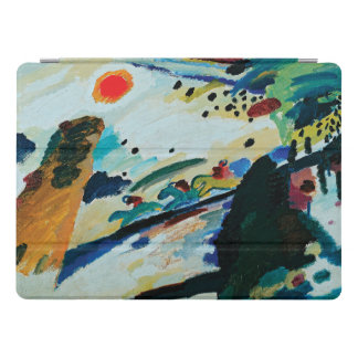 Romantic Landscape by Wassily Kandinsky iPad Pro Cover
