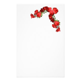 romantic letter paper stationery design