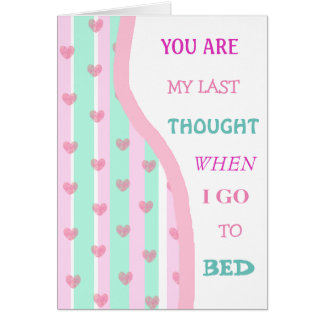 Romantic Love for Couples Card