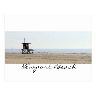 Romantic Newport Beach Postcard