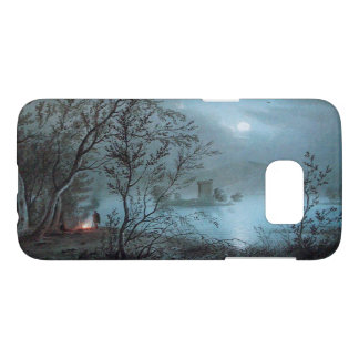 ROMANTIC NOCTURNE LANDSCAPE IN BLUE SAMSUNG GALAXY S7 CASE