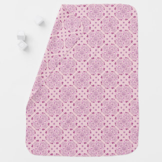 ROMANTIC NOTES [pink] Swaddle Blankets