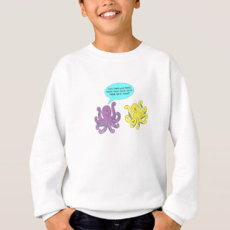 Romantic Octopus Sweatshirt