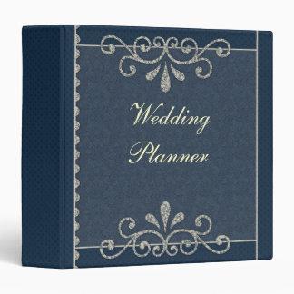 Romantic Ornamental Wedding Planner Vinyl Binders