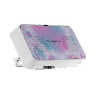 Romantic Pastel Heart Design Speaker System