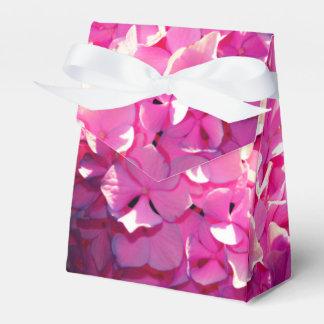 Romantic Pink Hydrangea Favor Box