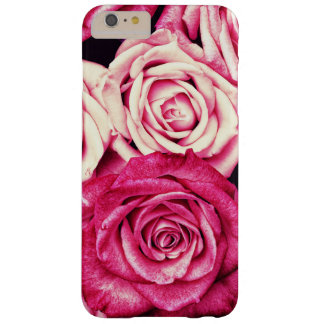 Romantic Pink Roses Barely There iPhone 6 Plus Case