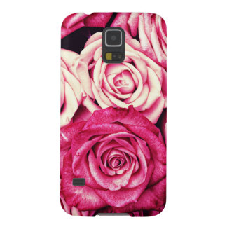 Romantic Pink Roses Galaxy S5 Cases