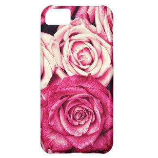 Romantic Pink Roses iPhone 5C Cases