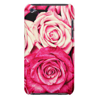 Romantic Pink Roses iPod Touch Cases