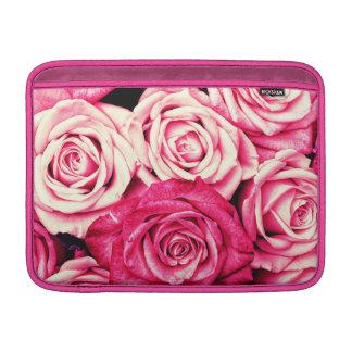 Romantic Pink Roses MacBook Sleeve