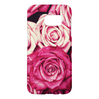 Romantic Pink Roses Samsung Galaxy S7 Case
