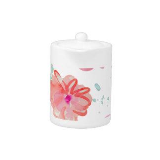 Romantic Pink Watercolor Flowers
