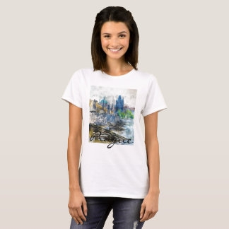 Romantic Prague in the Czech Republic T-Shirt