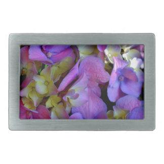 Romantic Purple Hydrangeas Belt Buckles