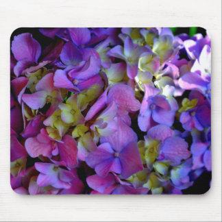 Romantic Purple Hydrangeas Mouse Pad