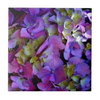 Romantic Purple Hydrangeas Tiles