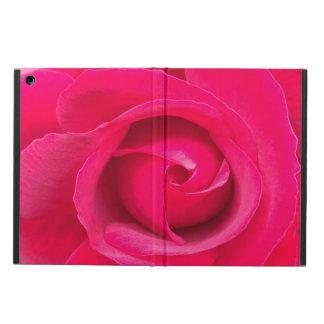 Romantic Red Pink Rose iPad Air Cover