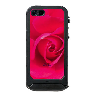 Romantic Red Pink Rose Personalized v2 Incipio ATLAS ID™ iPhone 5 Case