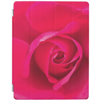 Romantic Red Pink Rose v2 iPad Cover