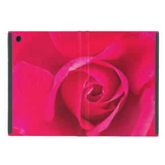 Romantic Red Pink Rose v2 iPad Mini Cover
