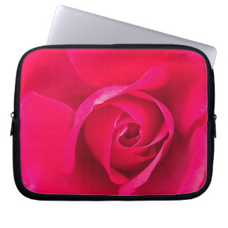 Romantic Red Pink Rose v2 Laptop Computer Sleeves