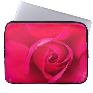 Romantic Red Pink Rose v2 Laptop Sleeve