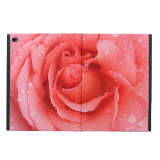 Romantic Red Pink Rose Water Drops Powis iPad Air 2 Case