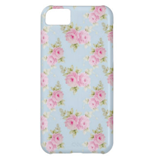 Romantic Rococo Pink Rose iPhone 5C Cover