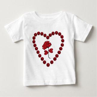 romantic rose baby T-Shirt