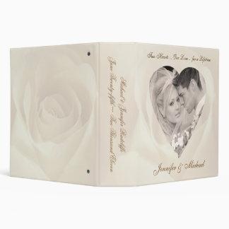 Romantic Rose - Personalized Wedding Binder
