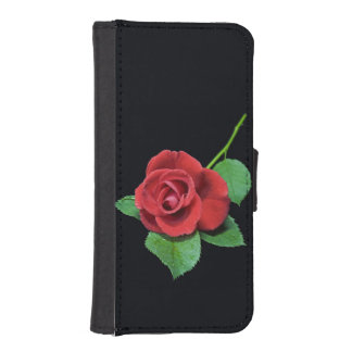 Romantic Rose Phone Wallet (all models)