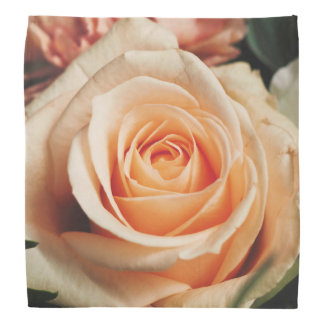 Romantic Rose Pink Rose Bandana
