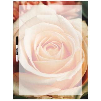 Romantic Rose Pink Rose Dry Erase Board