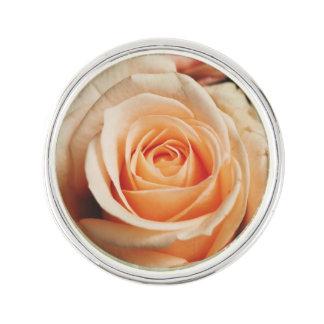 Romantic Rose Pink Rose Lapel Pin